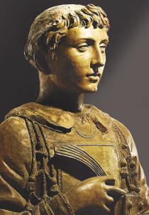 il busto di San Lorenzo