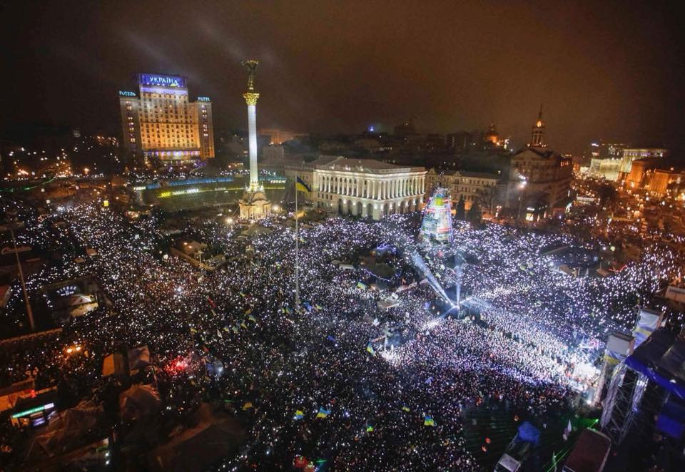 Ukraine marks fourth anniversary of Euromaidan protests.