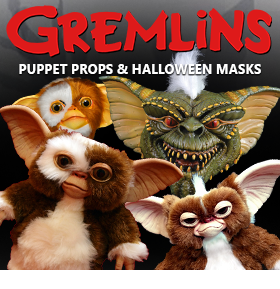 GREMLINS MASKS AND PROPS