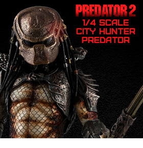 PREDATOR 2 1/4 SCALE CITY HUNTER PREDATOR W/LED