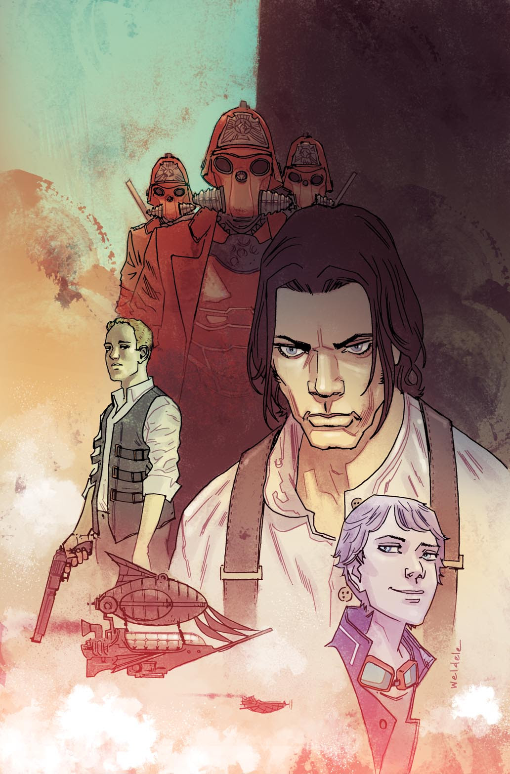 Lantern City #1 FOC Variant Cover