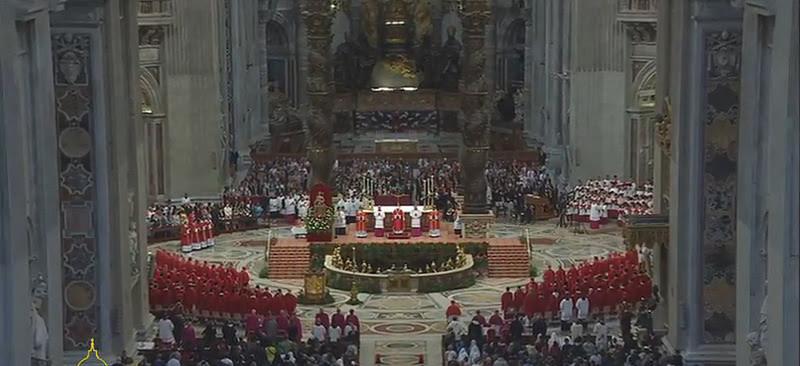 Homilía Papa Francisco Pentecostés 2015, Basílica Vaticana 24 mayo 2015, texto en español