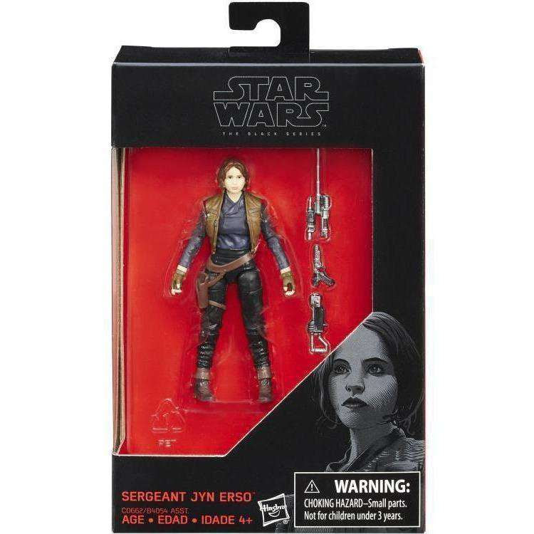 "Image of Star Wars: The Black Series 3.75"" Wave 2 - Jyn Erso"