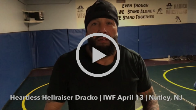 Dracko shows Kareem West who's in charge at IWF April 13