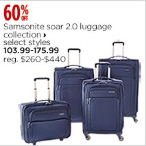 Samsonite soar 2.0 luggage collection