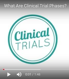 Screencap of Clinical Trials video