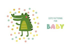 Cute card for baby
