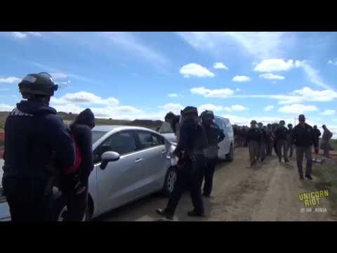 Militarized Police Evict Water Protectors from #NoDAPL Camp  Hqdefault