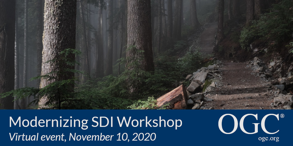 Banner for the Modernizing SDI workshop