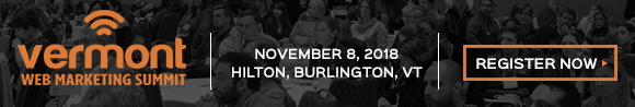VT Web Marketing Summit - Nov 8, 2018