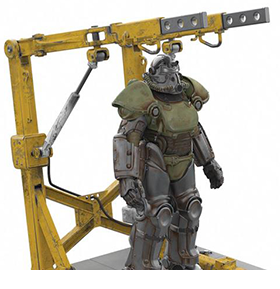 FALLOUT 51 POWER ARMOR & CRADLE 4 PORT USB HUB