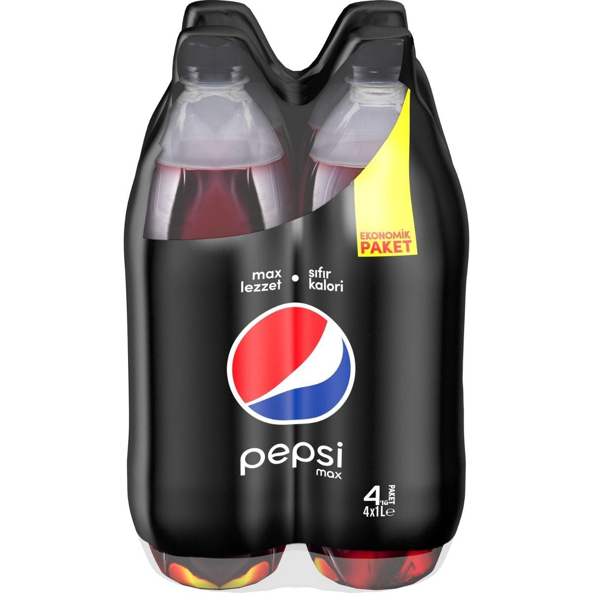 Pepsi Cola 4 x 1L Max