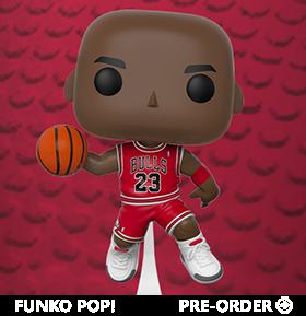 POP! NBA: MICHAEL JORDAN & LEBRON JAMES