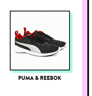 Puma and Reebok Shoes