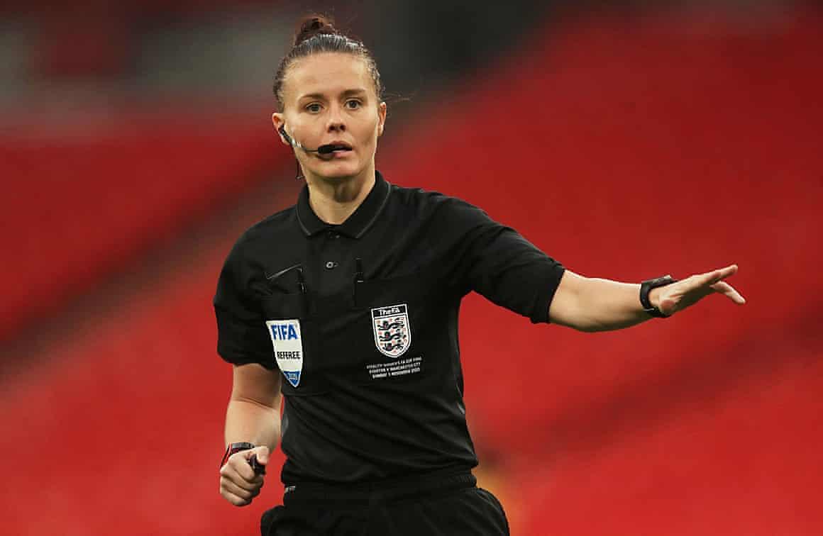 Rebecca Welch will be officiating Harrogate v Port Vale.
