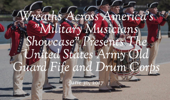 "WAAs ""Military Musicians Showcase"" Presents The United States Army Old Guard Fife and Drum Corps"