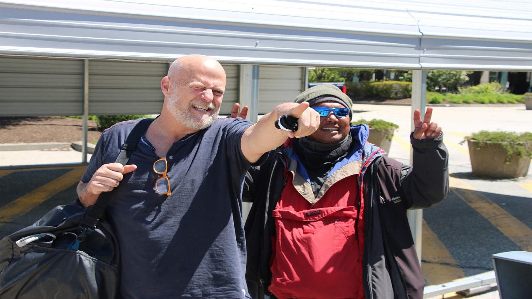 Scott Kuczmarski and Robert Pineda in Palo Alto