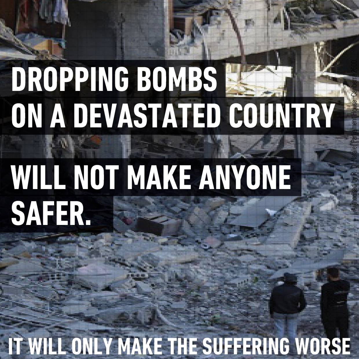 Bombing Syria will only make things worse