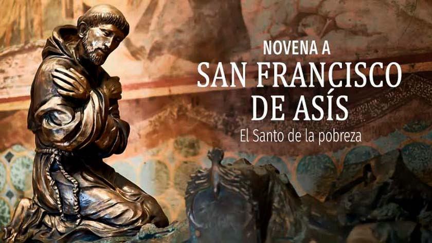 Novena a San Francisco de Asís por la salud del cuerpo y alma