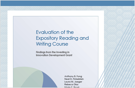 Evaluation of Expository Reading
