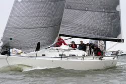 J/122 Orion sailing Annapolis Newport race