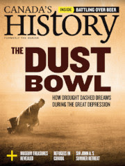 Cover of August-September 2018 issue - The Dust Bowl