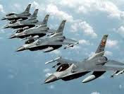 Israeli warplanes for attacking Iran