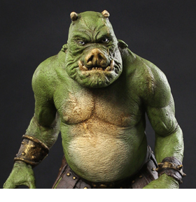 The Mandalorian Gamorrean Fighter Concept Maquette Replica