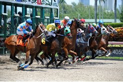 Gulfstream Park aims to start races closer to the post times it presents on its tote board and simulcast signal