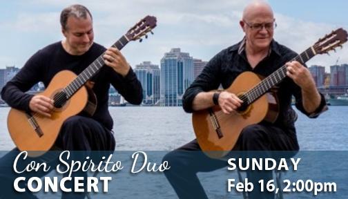 Con Spirito Duo in Concert at Visual Voice Fab 16, 2020