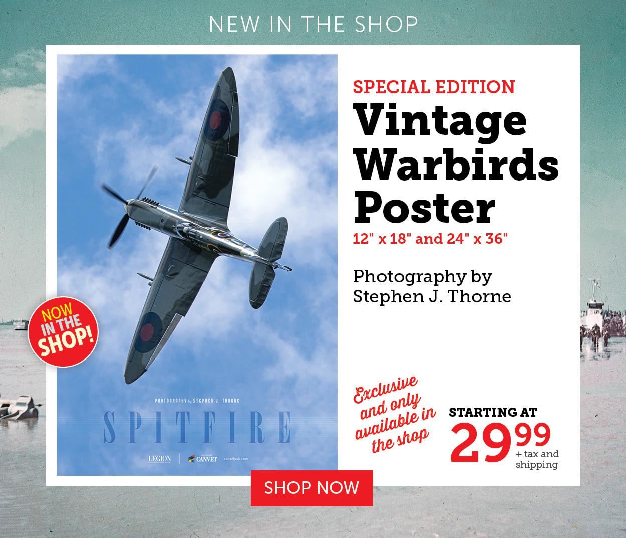 Vintage Warbirds Poster