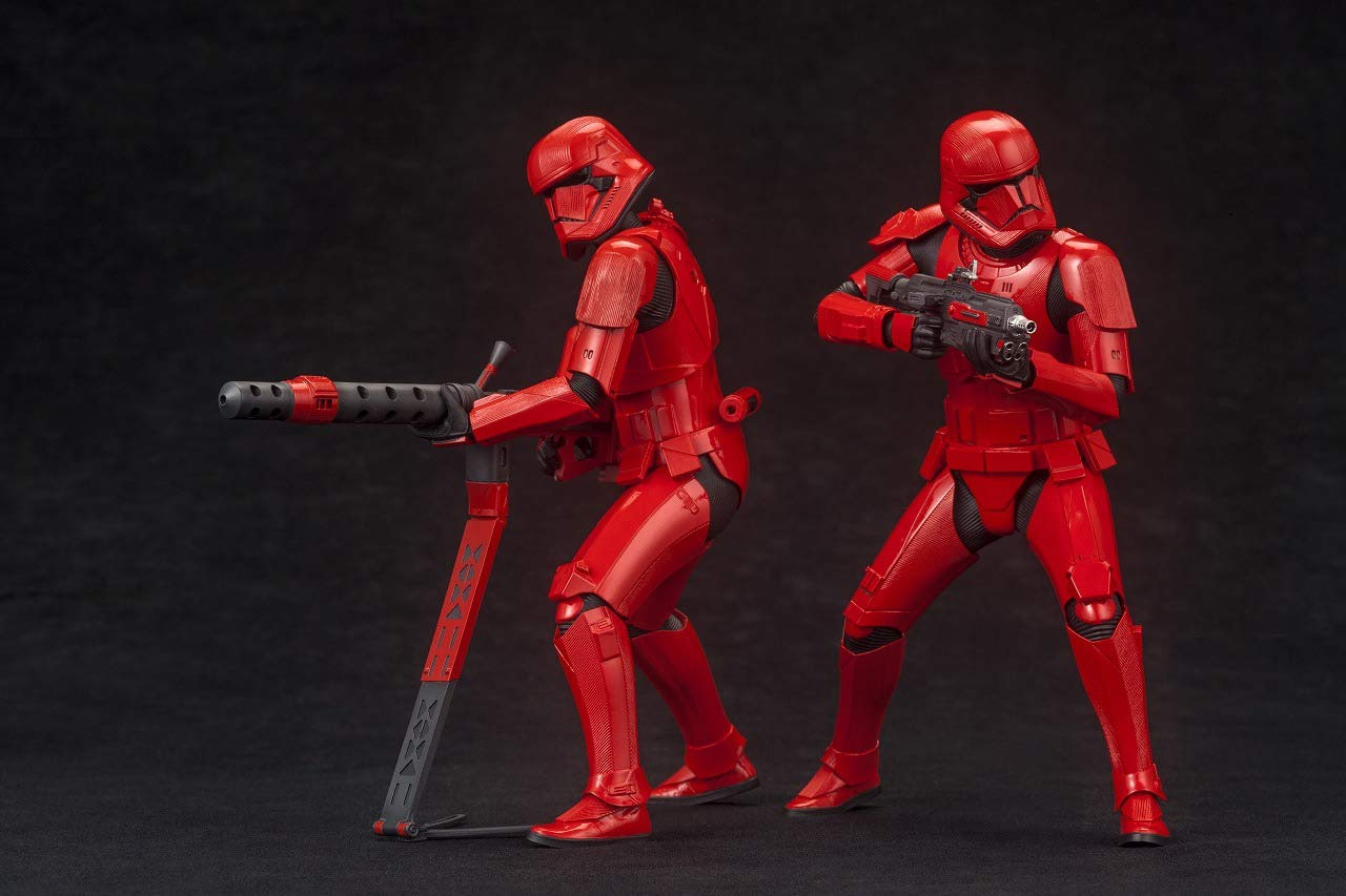 Image of Star Wars: The Rise of Skywalker Sith Trooper 2-Pack ARTFX+ Statues