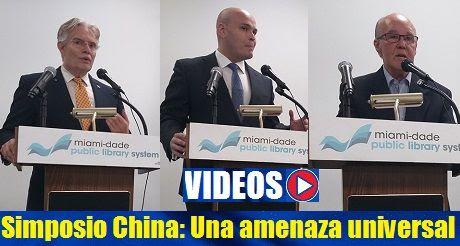 Videos Simposio China Una Amenaza Universal