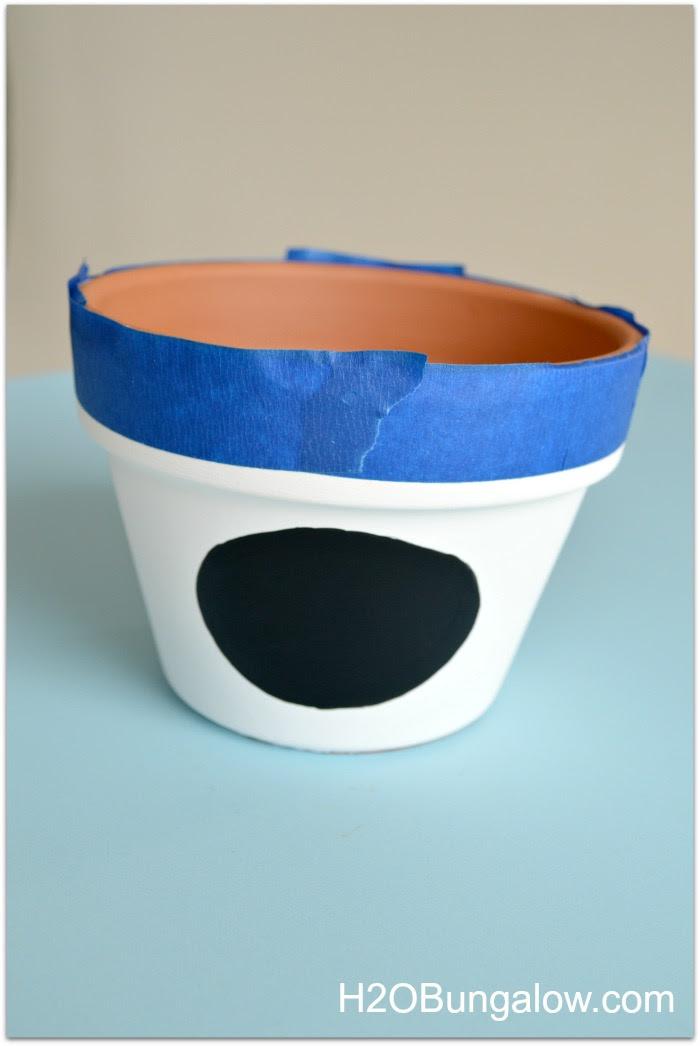 tape off bottom rim