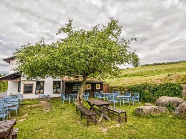 Manzano en Lidmans, Machov, Distrito de Nachod en la frontera polaco-checa, de una variedad traída de la región natal de sir Winston Churchill