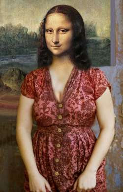 Mona Lisa Country Lady
