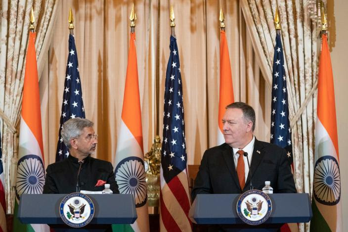 Pompeo says China's action on India border part of behaviour of ruling Communist Party
