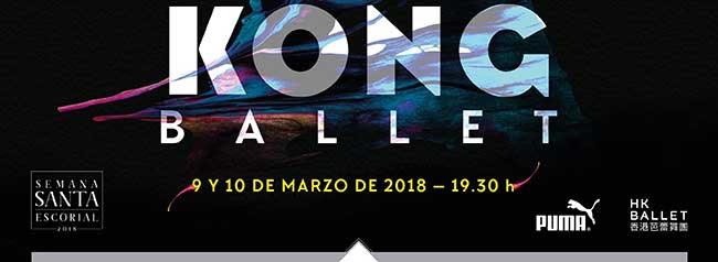 Hong Kong Ballet . 9 y 10 de marzo de 2018. 19:30h.