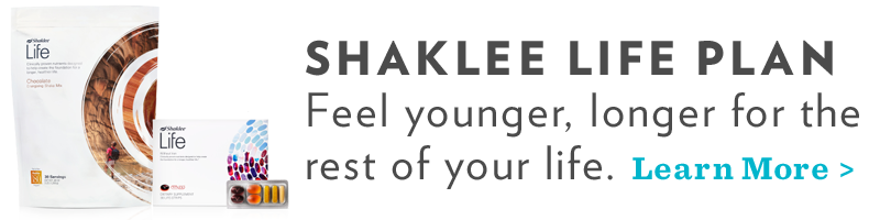 Shaklee Life Plan Feel younger, longer for the rest of your life.