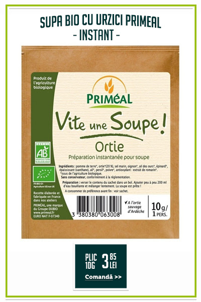 Supa bio cu urzici (plic), 10g - Primeal
