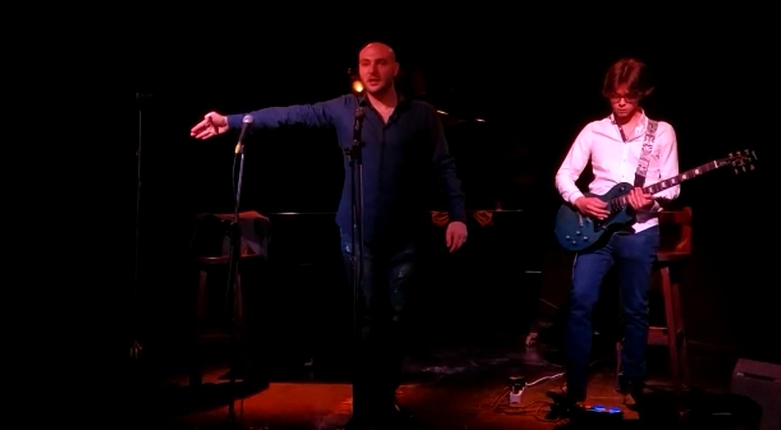 RICERCANDO L'AMORE  concerto - spettacolo con Davide Campolo e Gianluca Sierra