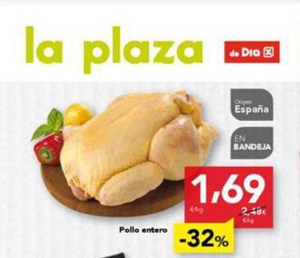 Ofertas de pollo de DÍA por debajo del coste de producción.