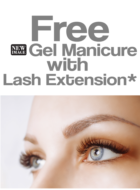 Free Gel Manicure with Eyelash Extension