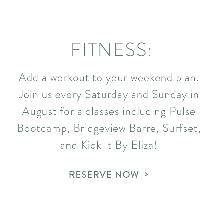 reserve your fitness class