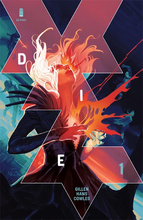 DIE #1 cover