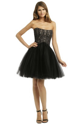 Allison Parris Noir Wonderland Dress