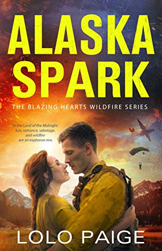 Cover for 'Alaska Spark (Blazing Hearts Wildfire Series Book 1)'