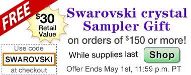 FREE Swarovski + NEW Turquoise...