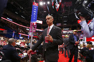 Corey Lewandowski, Donald J. Trump's former campaign manager, at the Republican National Convention in Cleveland in July.