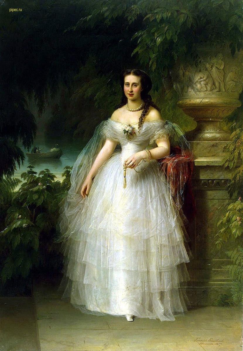 1857, von Kaulbach, Alexandra Iosifovna, Grand Duchess, Wettin family, Romanov family, Russian